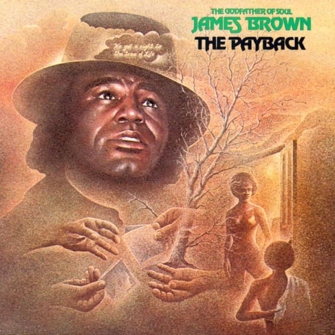Pochette de l'album  « The Payback », 1974.