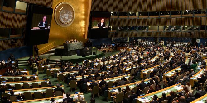 Le secrétaire des Nations unies a ouvert le sommet de l'ONU sur le climat, le 23septembre.
