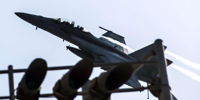 Les Etats-Unis et leurs alliés, qui ont commencé à frapper les djihadistes de l'EI en Syrie, ont envoyé un