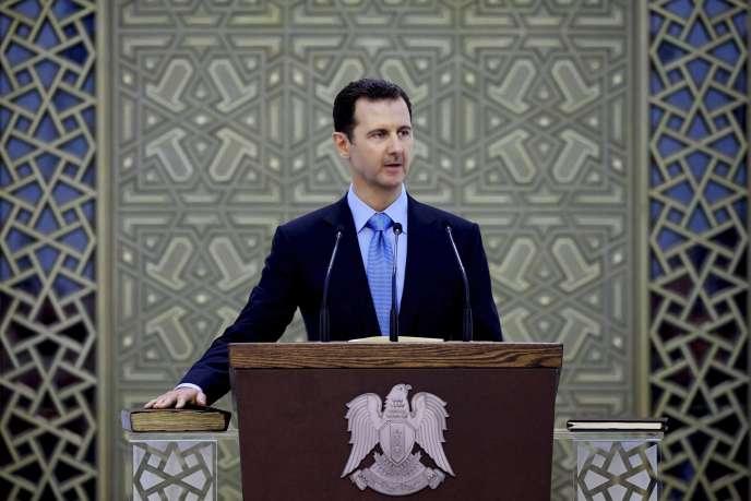 Sans mentionner spécifiquement les bombardements, le président syrien a déclaré qu'il soutenait « tout effort international antiterroriste ».