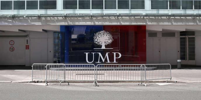 Le siège de l'UMP, en juillet.