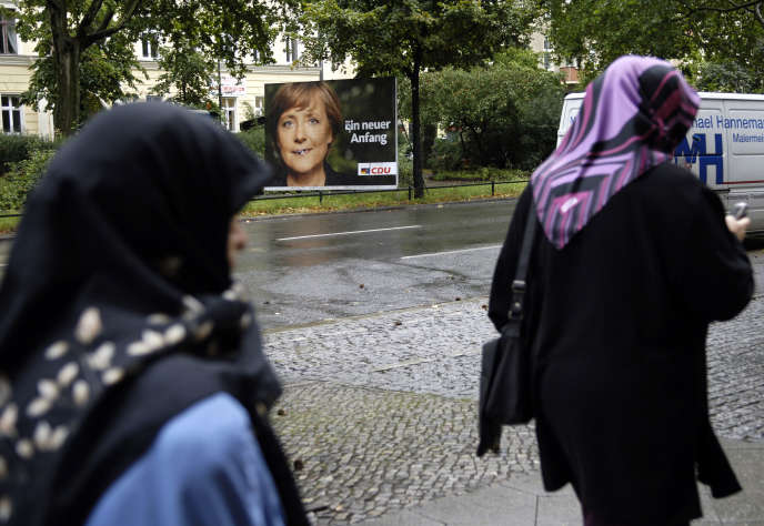 Des femmes voilées, à Berlin en 2005.