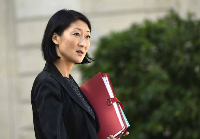 La ministre de la culture, Fleur Pellerin, le 25 septembre à Paris.