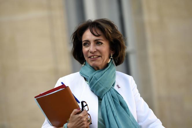 La ministre de la santé Marisol Touraine. AFP PHOTO / LIONEL BONAVENTURE