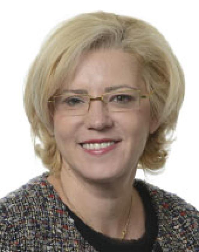 La Roumaine Corina Cretu, vice-présidente du Parlement européen.
