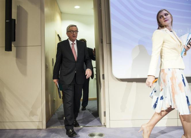 Le président de la future Commission européenne, Jean-Claude Juncker, le 10 septembre, à Bruxelles.