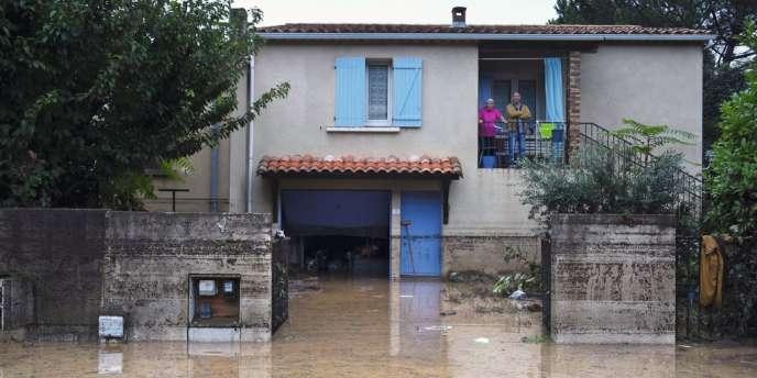 Le 18 septembre, des pluies torrentielles faisaient quatre victimes et un disparu à Lamalou-les-Bains (Hérault).