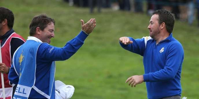 Les Européens ont remporté dimanche la Ryder Cup.