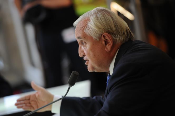 Jean-Pierre Raffarin en septembre 2014.