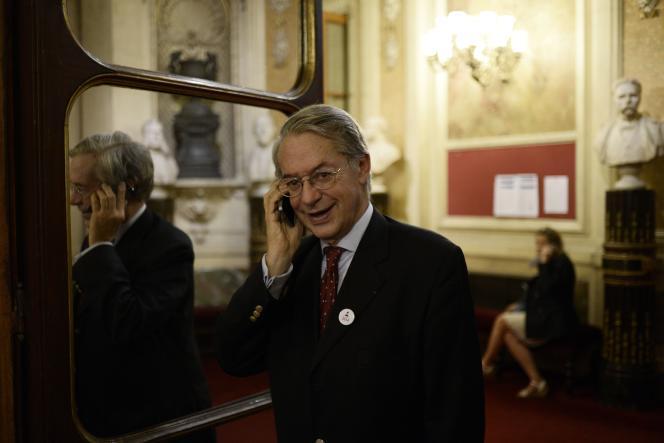 Le président de la commission des finances du Sénat, Philippe Marini (UMP), en délicatesse avec le fisc, plaide la bonne foi.