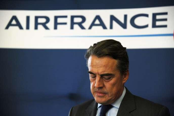 Le PDG du groupe Air France-KLM, Alexandre de Juniac, le 28 septembre à Paris.