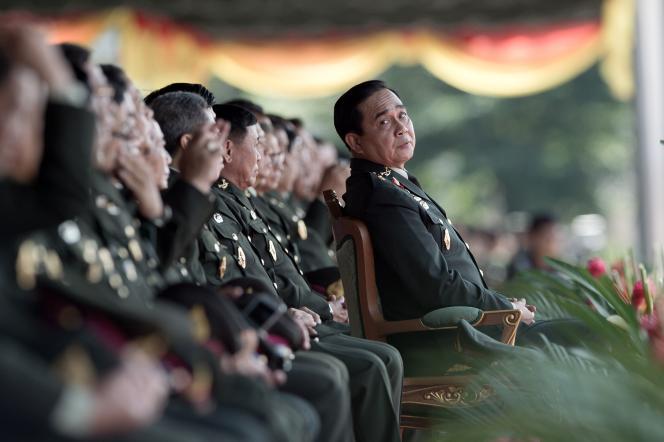 Prayuth Chan-ocha, le 29 septembre à Nakhon Nayok, à une centaine de kilomètres de Bangkok.