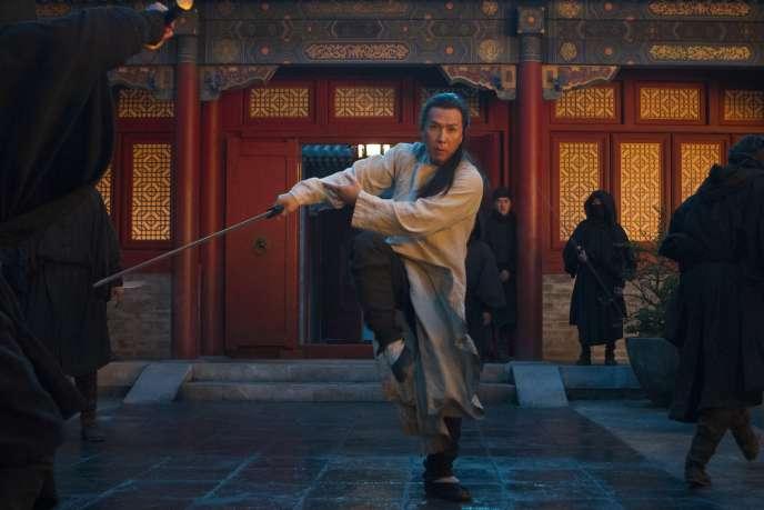 Une photo de tournage de Tigre et Dragon 2, co-produit par Netflix
