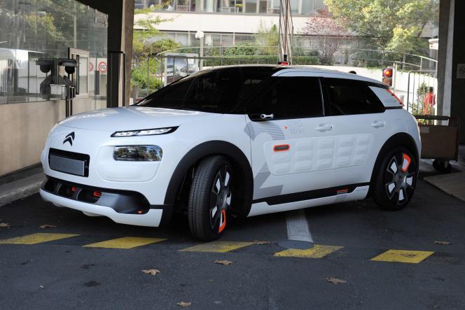 La Citroën C4 Cactus, visée par une étude du Joint Research Center.