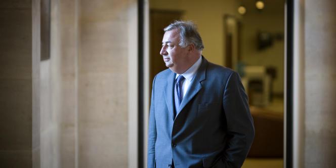 Gérard Larcher, le 21septembre2008 au Sénat, à Paris.