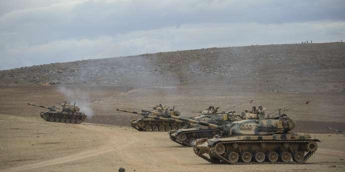 L'armée turque a pris place aux alentours d'Aïn Al-Arab (Kobané) le 29septembre.