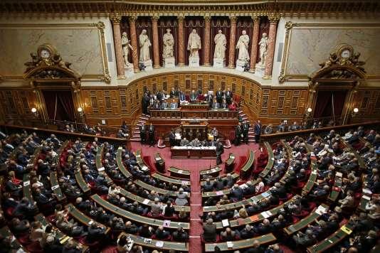 Le Sénat, à Paris.