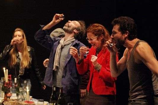 """""""Nous sommes seuls maintenant"""", du collectif In Vitro, au Théâtre Gérard Philippe de Saint-Denis du 2 au 12 octobre."""