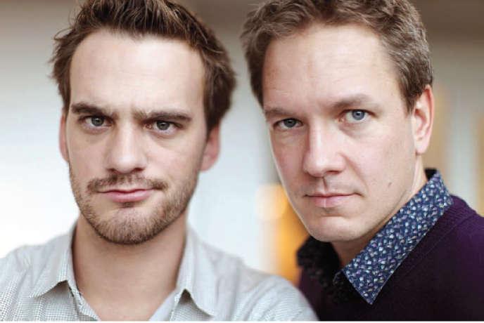 Le duo comique suisse Vincent Kucholl et Vincent Veillon.