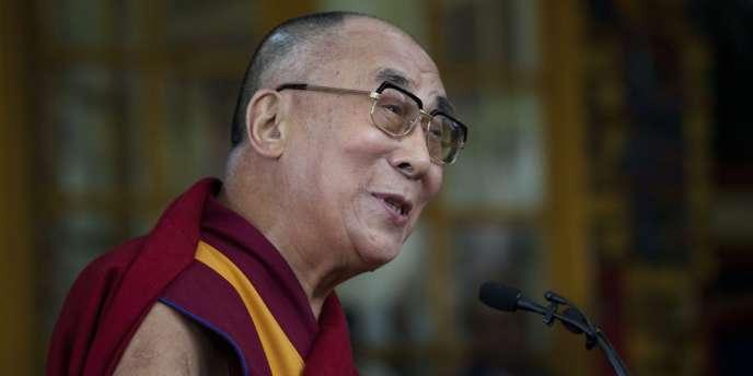Le dalaï-lama, à Dharamsala, en Inde, le 2octobre.