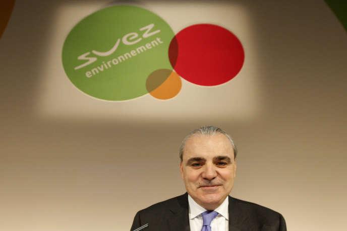 Jean-Louis Chaussade, PDG de Suez Environnement, en 2009, à Paris.
