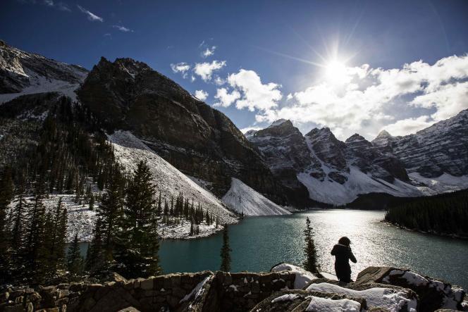 Près de Banff, le 2 octobre.