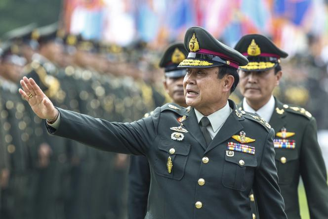 Prayuth Chan-ocha, le 30 septembre à Bangkok.