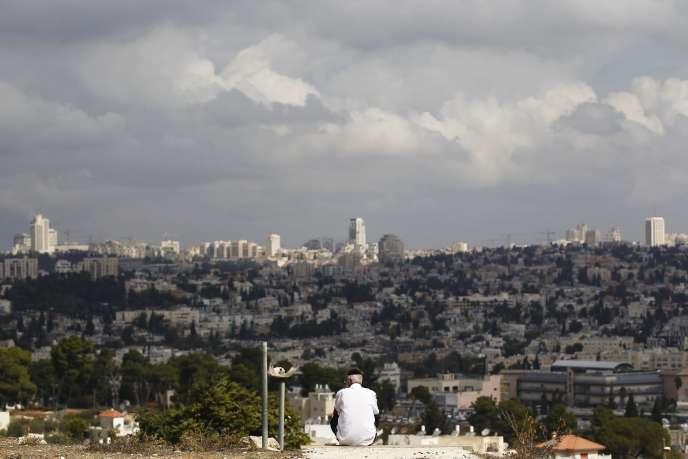 Une vue de Jérusalem, depuis le quartier de Givat Hamatos, le 2 octobre.