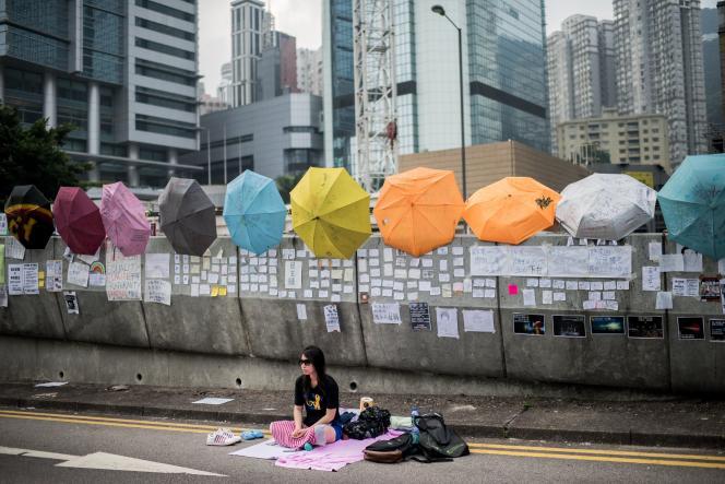 A Hongkong, le 3 octobre.
