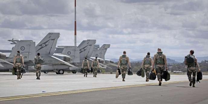 Le premier ministre australien a annoncé, vendredi, qu'il rejoignait la coalition internationale de lutte contre les djihadistes.