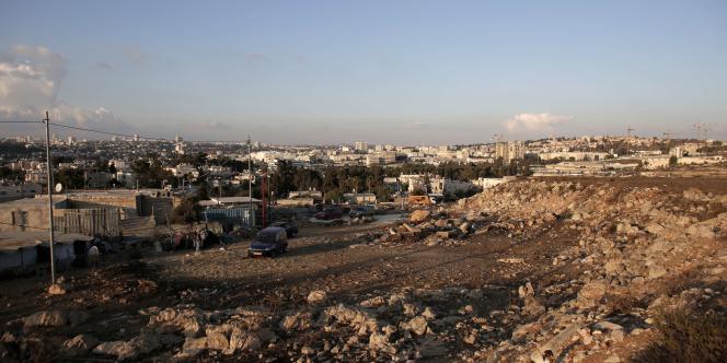 Le quartier de Givat Hamatos, à Jerusalem-Est, le 2octobre2014.