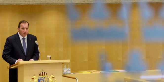 Le premier ministre de la Suède, Stefan Lofven, en octobre à Stockholm.