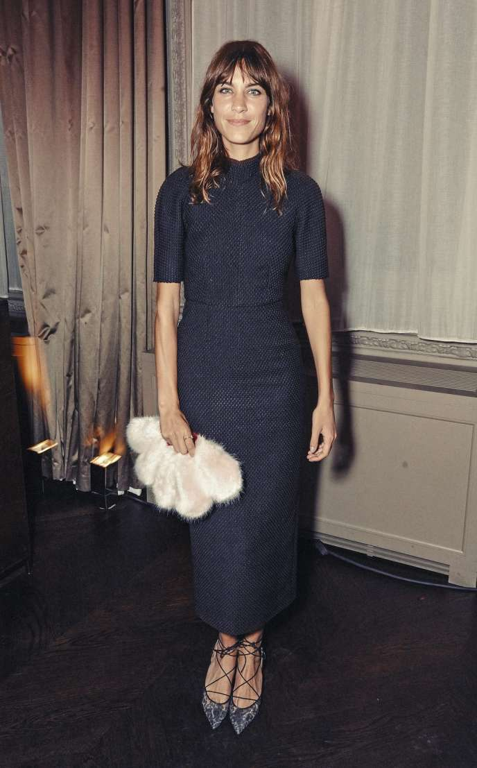 Alexa Chung, 30 ans, un âge canonique pour une it-girl, a réussi à faire  carrière dans la mode. Getty Images for Business of Fas   David M. Benett 84538ae8a17