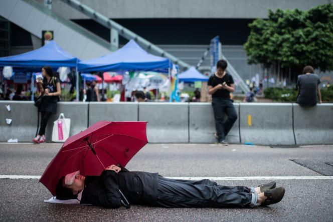A Hongkong, le 4 octobre.