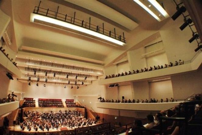 La salle Pleyel.