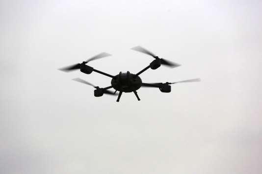 Un des modèles de drones utilisés par la gendarmerie.