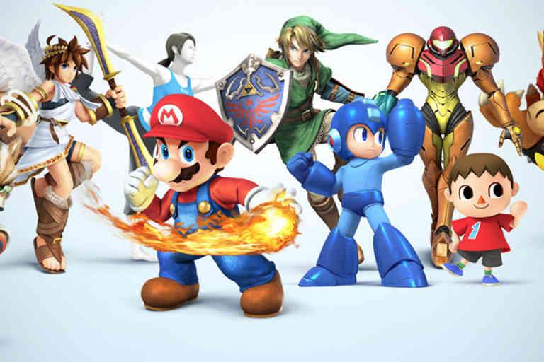 «Nintendo Smash Bros».