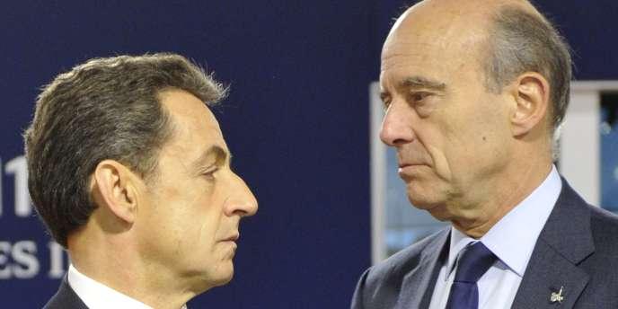 Nicolas Sarkozy et Alain Juppé (ici en 2011) n'ont pas le même avis sur le mariage pour tous.