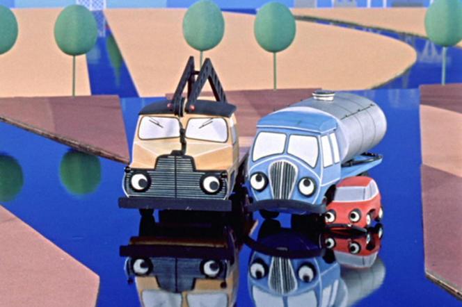 Une image du programme de cinq courts-métrages d'animation polonais,