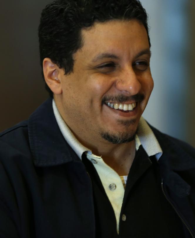 Ahmed Awad ben Mubarak, le 27 septembre 2014