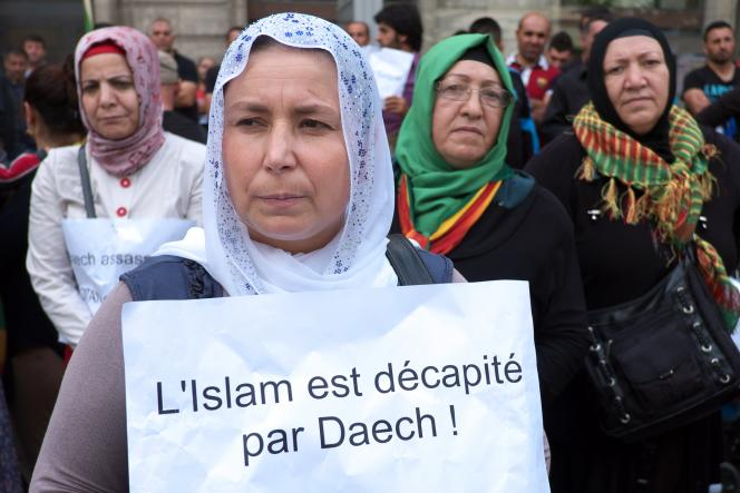 Manifestation contre Daech, à Marseille