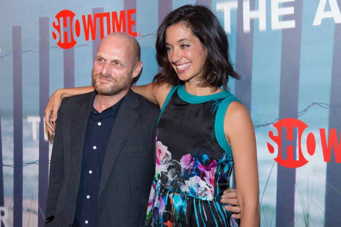 Hagai Levi et Sarah Treem le 6 octobre à New-York, lors de l'avant-première de
