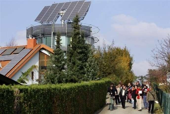 La ville de Fribourg, en Allemagne, a développé des
