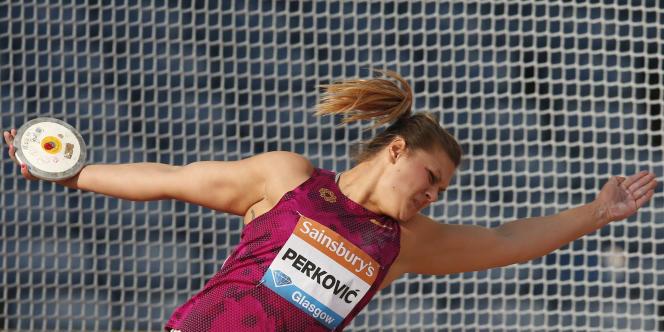 Contrôlée positive à un psychostimulant en 2011, Sandra Perkovic était également nommée dans les athlètes de l'année.