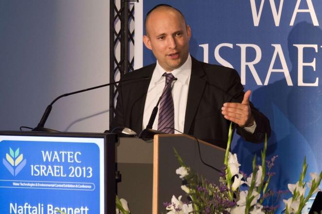 Naftali Bennett, le ministre israélien de l'économie, à Tel-Aviv.