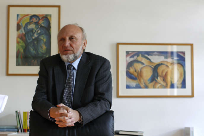 Hans-Werner Sinn, le président de l'institut de conjoncture IFO.