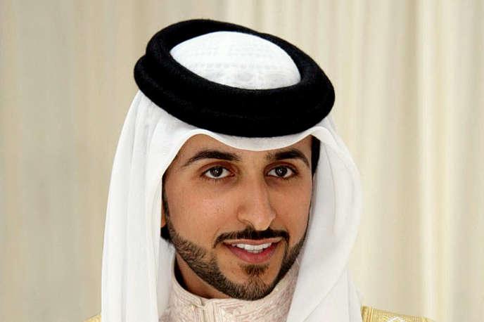 Le cheikh Nasser bin Hamad Al-Khalifa, fils du roi du Bahreïn le 29 septembre 2009.