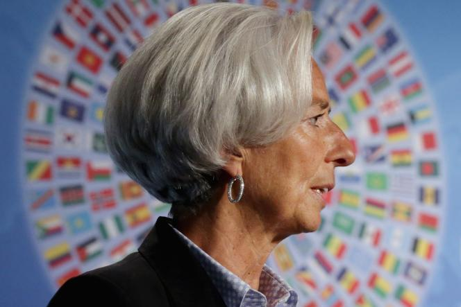 Christine Lagarde, directrice générale du FMI.