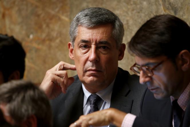 Le député UMP Henri Guaino à l'Assemblée nationale.