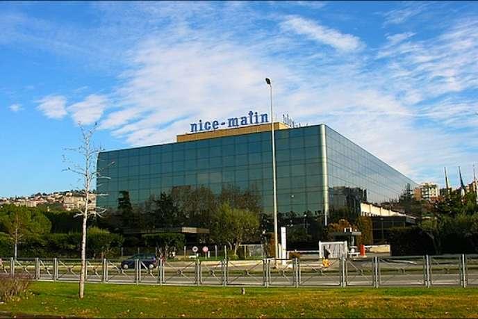 Le siège de Nice-Matin. DR
